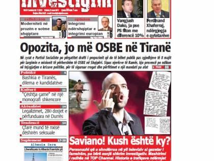 Ma quanto copia Saviano?<br /> Adesso lo accusa anche l'Albania