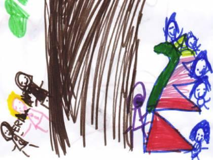 I DISEGNI DEI VOSTRI BAMBINI Lo scarabocchio di Alessia