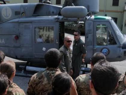 I militari a scuola di telecomunicazioni