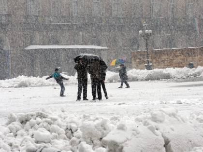 Neve e maltempo sull'Italia In arrivo sulla Penisola perturbazione dalla Siberia