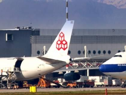 Malpensa, l'export fa decollare i voli da Cargo City