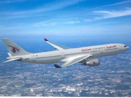 Qatar Airways raddoppia i voli da Malpensa