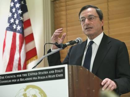 """Riforme, Draghi ai Paesi Ue: """"Le priorità in Europa sono  il lavoro e le liberalizzazioni"""""""