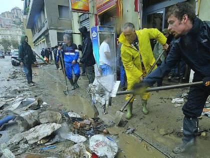 Burlando butta nel Fereggiano i soldi promessi agli alluvionati