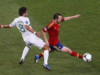 La Spagna è in finale:<br />ha battuto il Portogallo<br />dopo i calci di rigore