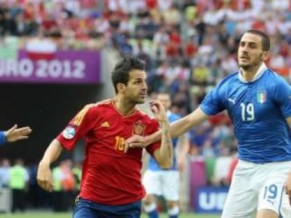 Italia contro Spagna<br />parenti scomodi<br />così uguali e diversi