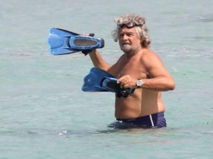 Grillo a mollo in Sardegna. E Napolitano può aspettare