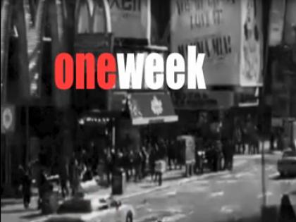 """Nasce la nuova rubrica """"One week one minute"""""""