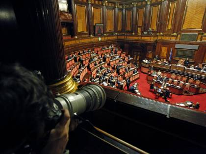 L'Idv torna al Senato