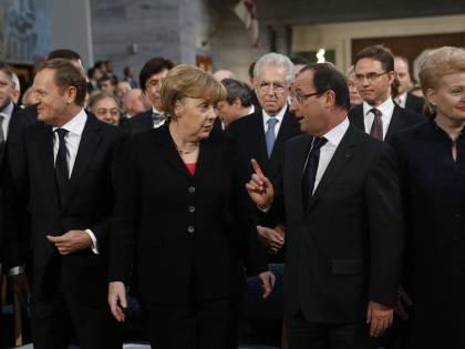 I leader europei riempiono di elogi Monti