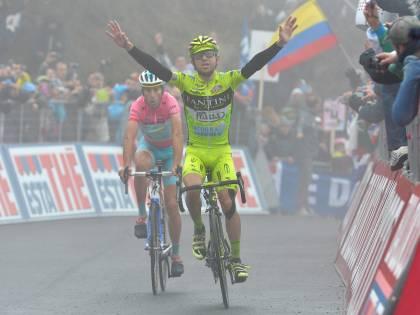 Nibali, uno yeti in rosa nel Giro d'Italia surgelato