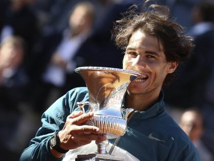 Open d'Italia, Nadal travolge Federer: re di Roma per la 7ª volta
