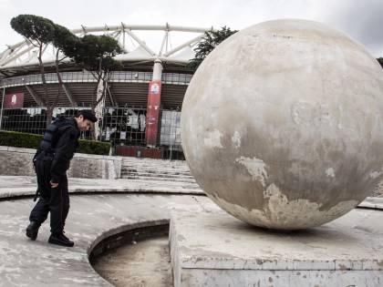 Finale di Coppa Italia Allerta all'Olimpico: trovati sassi e bastoni