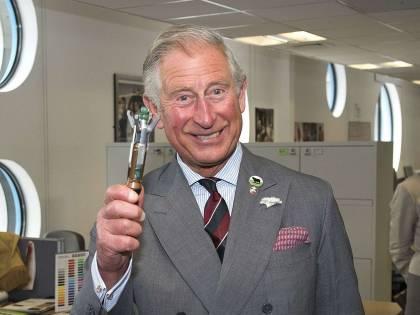 Il nobile rattoppo del principe Carlo