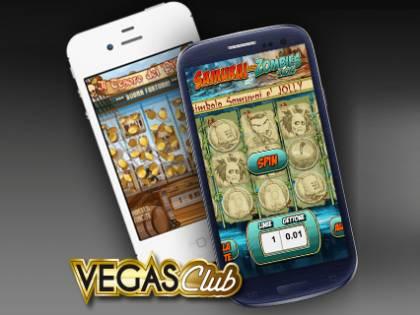 Vegas Club, slot machine online sullo smartphone