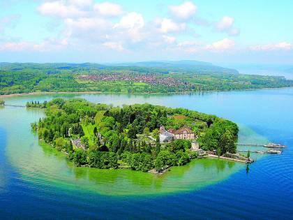 Mainau, l'isola-giardino immersa nel lago di Costanza