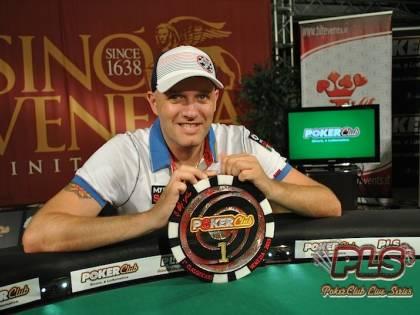 PokerClub Live Series: la corona va a Enrico Mosca