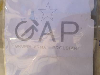 Paura alla sede del Giornale Busta sospetta firmata Gap