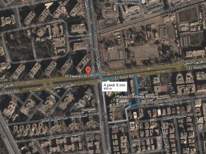 Il luogo dell'arresto di Mohammed Badie