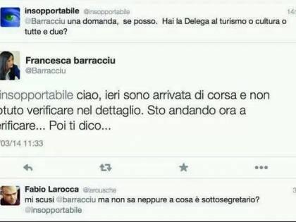 """Gaffe della Barracciu: """"La delega? Non lo so"""""""