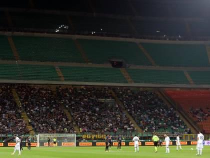 Affluenza tifosi allo stadio: Inter prima, Milan secondo. Impianti sempre meno vuoti