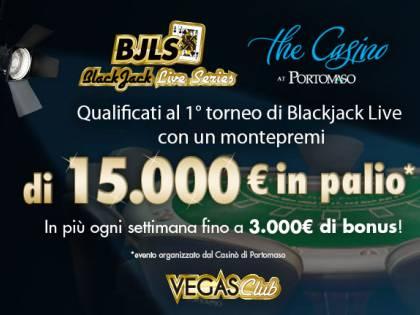 Vegas Club inaugura Blackjack Live Series