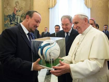 Papa Francesco riceve le squadre di Napoli e Fiorentina