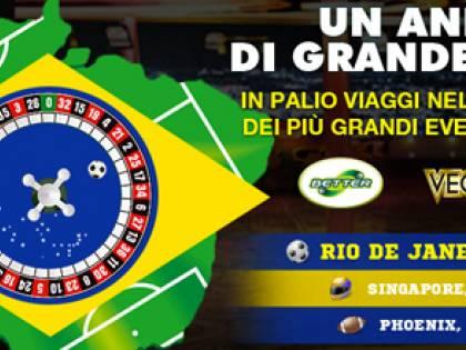 """""""Un anno di Grande Sport"""" al via la fase 2. In palio il viaggio in Brasile"""