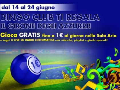 Bingo Club assieme con gli azzurri