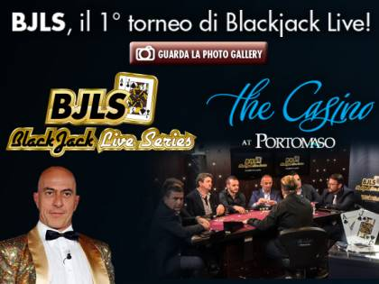 Blackjack Live Series, manda foto e video