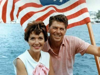"""Reagan a Montanelli: """"Grazie al Giornale"""""""
