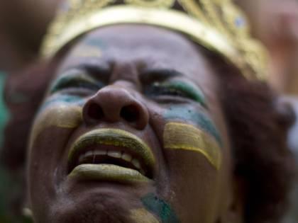 La disperazione dei tifosi brasiliani