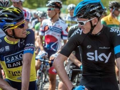 """Tour, la cronosquadre va alla Bmc:  Froome resta leader, Nibali perde 34"""""""