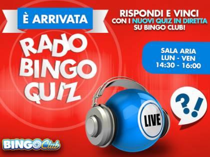 Radio Bingo Quiz, rispondi e vinci
