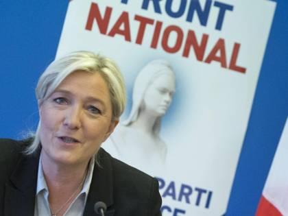 La prima volta in Senato del partito di Le Pen