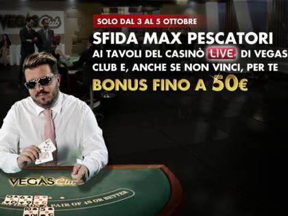 Gioca e sfida Max Pescatori