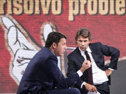 """Porro: """"Renzi mi scrisse: 'Non stare sereno'"""""""