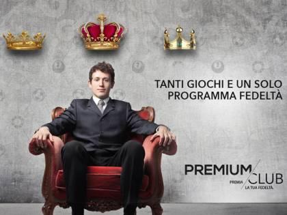 """""""Inizia sentirti un re"""": è arrivato Premium Club"""