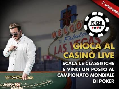 Con Casinò Live vinci un viaggio a Las Vegas