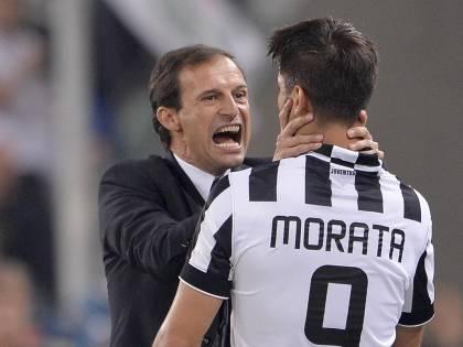Juventus, dopo lo stop per Khedira Alvaro Morata fuori un mese