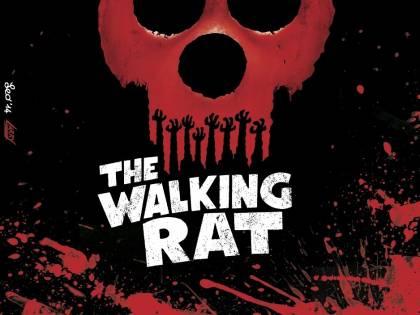 """""""The Walking Rat"""", la parodia sugli zombie di Leo Ortolani"""