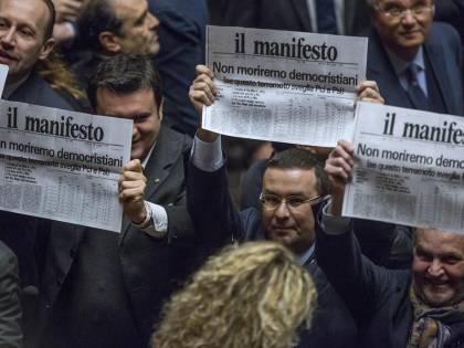 """Proteste in aula della Lega: """"Non moriremo democristiani"""""""