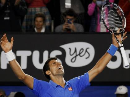 Australian Open, Djokovic batte Murray in finale
