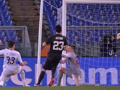 Coppa Italia, Gomez stende la Roma: Fiorentina in semifinale con la Juve