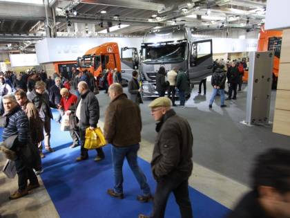 Cinque big dell'autotrasporto a Transpotec. Bene l'inizio del 2015 per Fiera Milano