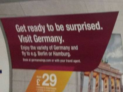 Germanwings: ritirati i cartelloni pubblicitari a Londra