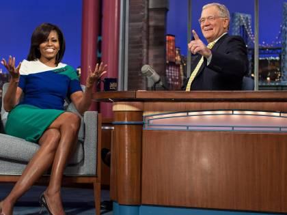 """Letterman, il re dell'ironia che non ha mai """"lisciato"""" i vip"""