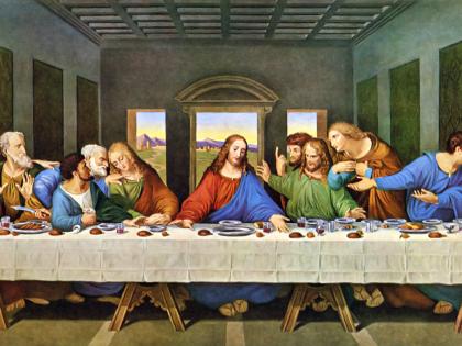 """""""L'ultima cena"""" di Leonardo da Vinci: il menù forse a base di pesce"""