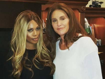 L'incontro tra Caitlyn Jenner e Laverne Cox per i diritti transgender