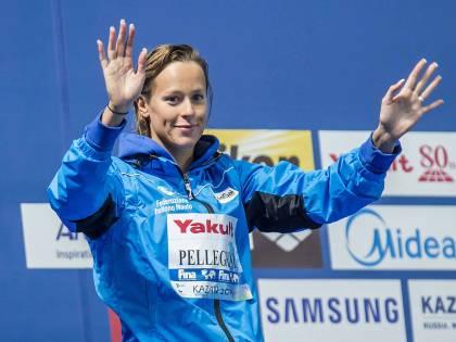 Mondiali di nuoto, la Pellegrini trascina la 4x200 stile alla medaglia d'argento